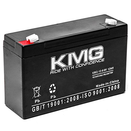 KMG 6V 12Ah Replacement Battery for INTERSTATE BATTERIES BSL0955 BSL0959 PC6100