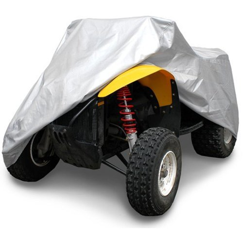 OxGord Solar-Tech Reflective ATV Cover - 100 Sun-Proof - Ready-Fit  Semi Custom - Fits up to 86 inches