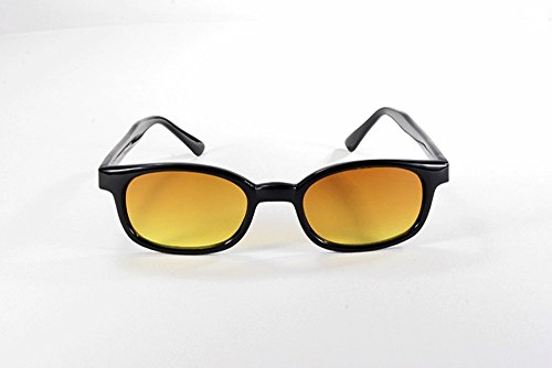X Kd Sunglasses Blue Buster Amber Lens Sunglasses Large Size Uv400