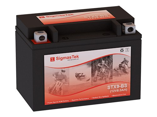 PTX9BS-FS Motorcycle Battery Replacement
