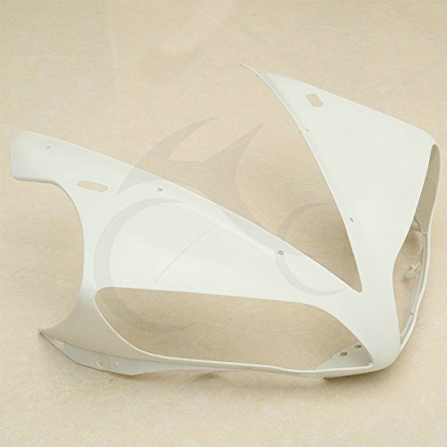 TCMT Unpainted Upper Front Cowl Fairing Nose For YAMAHA YZF R1 YZF-R1 2004-2006 2005
