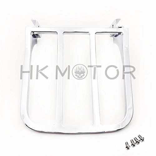 HK- 2-UP Four Bar Sport Luggage Rack For Harley 04 up XL models 02-05 Dyna