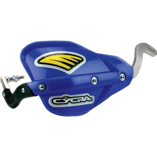 Cycra Probend Flexx Bar Motorcycle Direct Mount Racer Pack with Blue Enduro Handshields