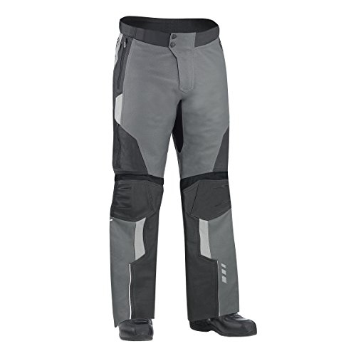 Can-Am Spyder New OEM Mens Leather Motorcycle Riding Pants Size 44 Charcoal Gray