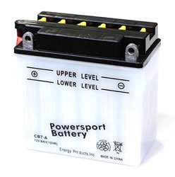 Replacement BATTERY YB7-A POWER SPORT BATTERY Battery