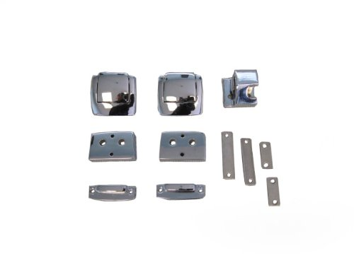 Replacement Chrome Latches for Harley Davidson Tour Pack ChoppedRazorKing