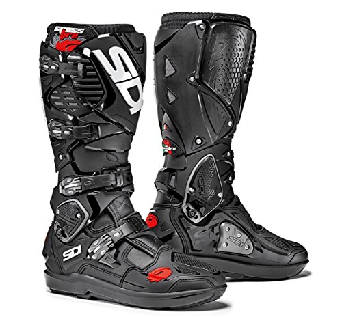 Sidi Crossfire 3 SRS Off Road Motorcycle Boots Black US95EU43 More Size Options