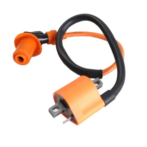poweka Performance Racing Ignition Coil for Yamaha Pw50 Pw80 Motorcycle Dirt Pit Bike All Years New