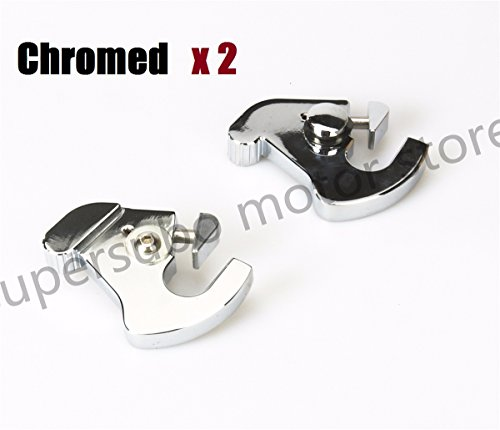 CHROMED motorcycle harley Luggage Rack Latch For Harley softail Electra Street Glide Road King
