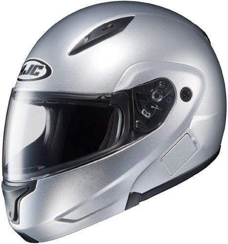 HJC CL-Max 2 Modular Motorcycle Helmet Light Silver Extra Large XL
