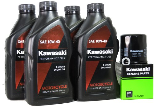 2011 Kawasaki NINJA 1000 Oil Change Kit