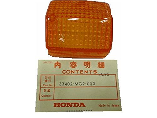 NEW OEM Honda Turn Signal Lens 33402-MG2-003