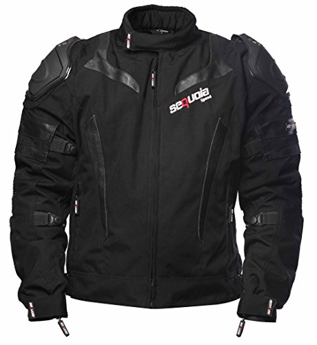 Sequoia Speed SR2030 Jacket Armor Motorcycle Body Gear Chest Black Full Protection Spine Protective Shoulder Men Racing Bike Motocross New S Guard Riding Powersports - Size XL - 3 Months Warranty