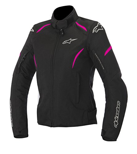 Alpinestars Stella Gunner Waterproof Womens Jacket Primary Color Pink Size Md Apparel Material Textile Distinct Name BlackPink Gender Womens 3216815-1032-M