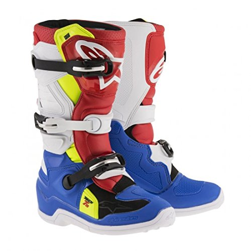 Alpinestars Tech 7S Youth Motocross Boots - BlueWhite - Youth 6
