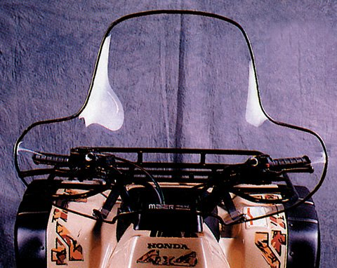 Maier ATV Windshield Clear With Cutout Universal