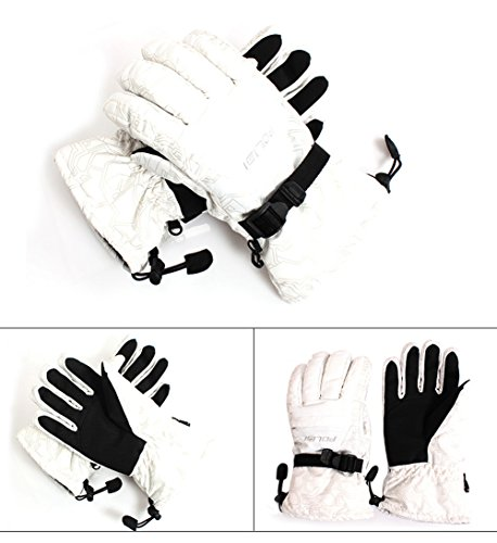 Moonse Outdoor Winter Sport Climbing Motorcycle Ski Waterproof Warm Snowboarding Gloves For Men
