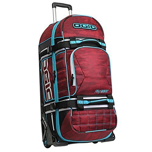 Ogio Rig 9800 Wheeled Le Red Haze Gear Bag - One Size