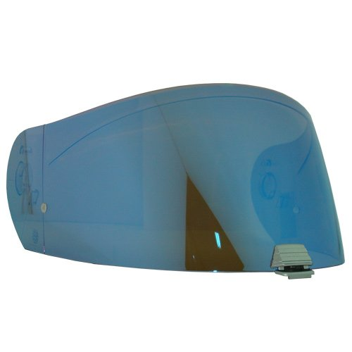 HJC HJ-25 Shield  Visor GoldSilverBlueSmokeClearPinlock Ready For R-PHA MAX helmets Bike Racing Motorcycle Helmet Accessories - Made in Korea Blue