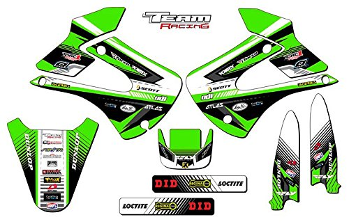 Team Racing Graphics kit for 2001-2013 Kawasaki KX 85100 ANALOG Base kit