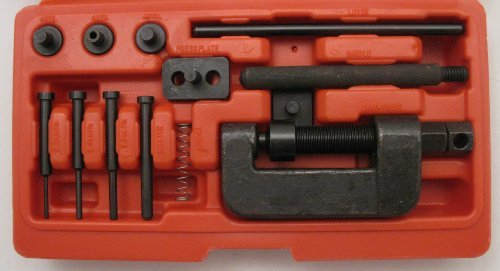 Hoosier Garage - MotorcycleATV Chain Cutter Breaker Riveting Rivet Tool - Sizes 428520530 - Priority Mail Shipping