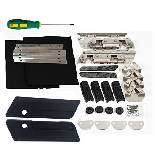 Hardware Latch Hinge Kit Hard Saddlebags Bags Rubber Set for Harley Davidson Touring 1993-2013