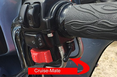 Cruise-Mate 2004-BLK - Throttle assist for Harley-Davidson motorcycles 1996 - Present except 2014  Touring models