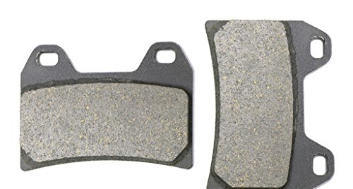 CNBK Front Left Brake Shoe Pads Semi-Metallic for DUCATI Street Bike 748 Testa Bassa Mono Biposto 07 07 2007 1 Pair2 Pads