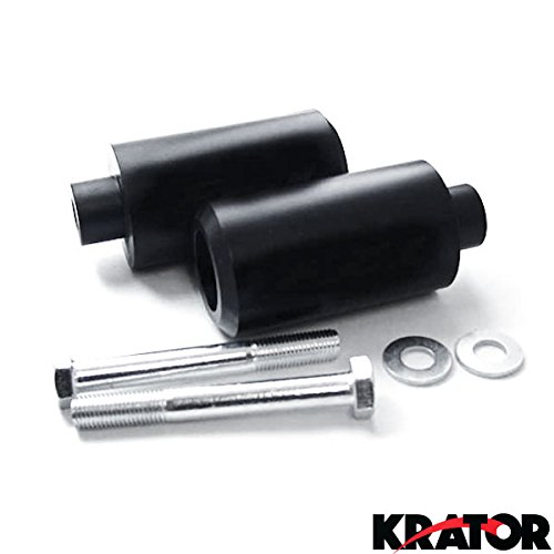 Krator No Cut Frame Sliders Motorcycle Fairing Protectors For 2009 Yamaha FZ1 Fazer FZS1000S