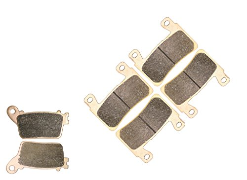 CNBK Sintered H-H Disc Brake Pads Set fit KAWASAKI Street Bike ZX6R ZX 6R ZX636 ZX-6R 636 cc 636cc FDF ABS Model 636cc 2013 2014 2015 13 14 15 6 Pads