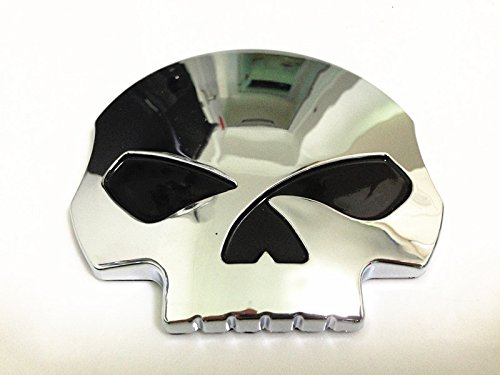 3d Chrome Skull Skeleton Fuel Gas Tank Pad Sticker Decal for Suzuki Gsxr Honda Cbr Kawasaki Zx6r Yamaha R1 R6 Yzf