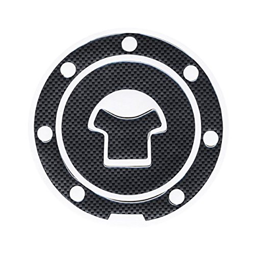 Motorcycle Parts Tank Protector Pad Sticker Fiber Fuel Gas Cap Cover Decal Fit For Honda Vtr1000 2001-2005