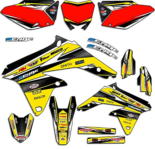 Senge Graphics 2005-2017 Suzuki DRZ 400 SM Vigor Yellow Graphics Kit