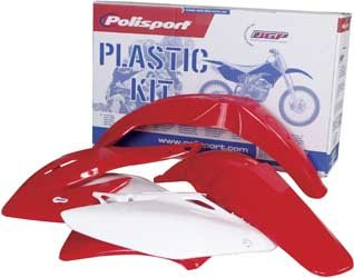 Polisport Plastics Kit Red for Honda CRF150R CRF 150R All