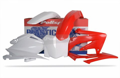 Polisport Plastics Kit Red for Honda CRF250R CRF 250R 2009
