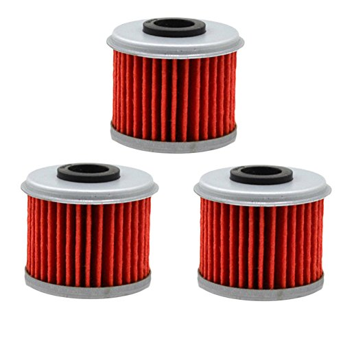AHL 116 Oil Filter for Honda CRF250R CRF250 R 2004-2014 2016 Pack of 3