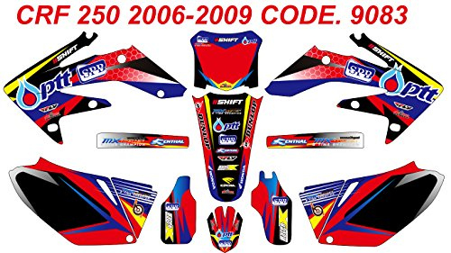 9083 HONDA CRF 250 2006-2009 DECALS STICKERS GRAPHICS KIT