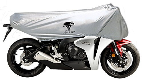 Nelson-Rigg UV-2000 Motorcycle Half Cover All-Weather 100 Waterproof Taped Seams UV Free Stuff Sack Medium Fits most Sport Bike Motorcycles