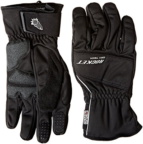 Joe Rocket Ballistic 70 Mens Cold Weather Motorcycle Riding Gloves Black Large