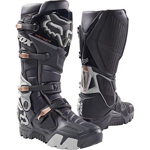 Fox Racing Instinct Offroad Mens Motocross Boots - Charcoal - 10