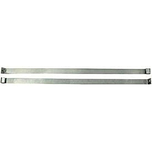Ecklers Premier Quality Products 25-243024 Premier Quality Products Gas Tank Straps Stainless Steel CVVTC-71912 Corvette -