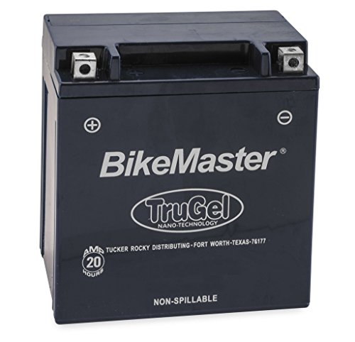 New BikeMaster TruGel Motorcycle Battery - 2000-2009 Buell Blast
