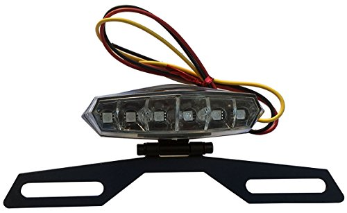 6 LED License Plate Holder Light Lamp for 2007 Honda CBR125R