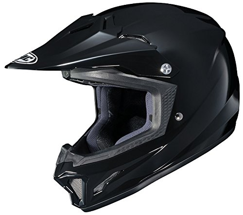 HJC CL-XY II Youth Motorcycle Riding Helmet Solid Black Large