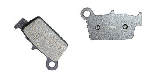 CNBK Rear Brake Pads Resin fit for BETA Dirt Bike RR498 RR 498 Enduro 13 14 2013 2014 1 Pair2 Pads
