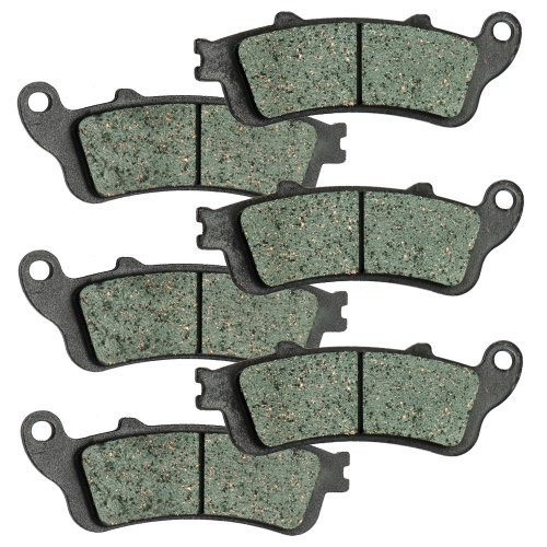 2002-2008 Honda VTX 1800C 1800R Front and Rear Kevlar Carbon Brake Pads