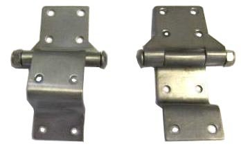 Stainless Steel Hinges for Harley Davidson Tour Pack ChoppedRazorKing and Police Hard Saddlebags
