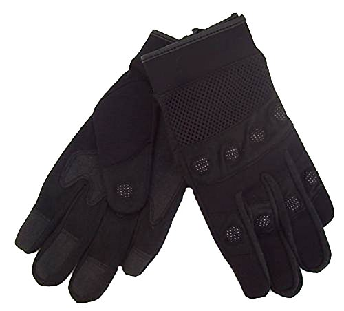 Kevlar Gel Padded Motorcycle Mechanics Gloves XL