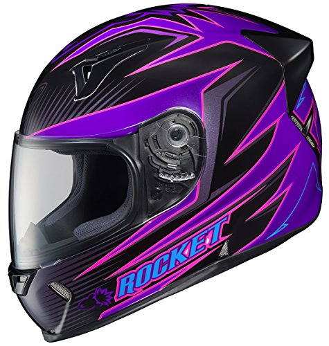 Joe Rocket R1000X Lithium Full-Face Motorcycle Helmet MC-8 X-Small