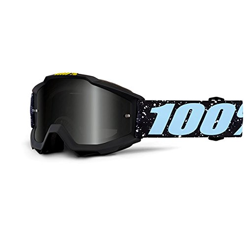 100 Unisex-Adult Accuri Junior MX Motocross Goggles MilkywayOne Size Fits Most